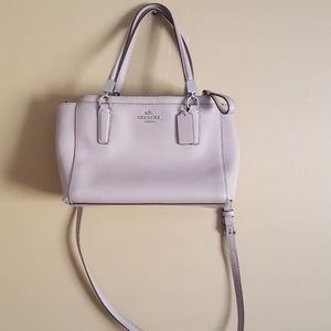 COACH ⭐LEATHER BAG 🌟 SILVER HARDWARE